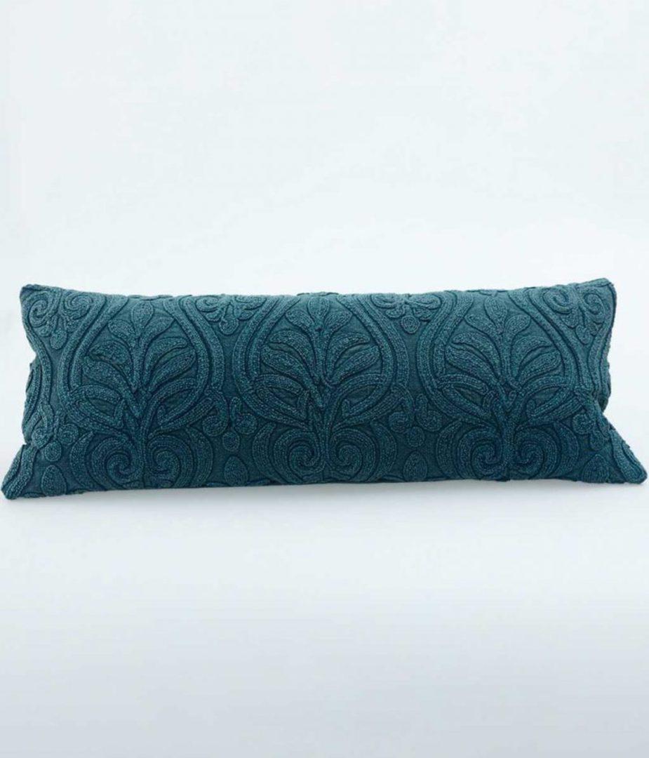 MM Linen - Malta Cushion - Teal image 0