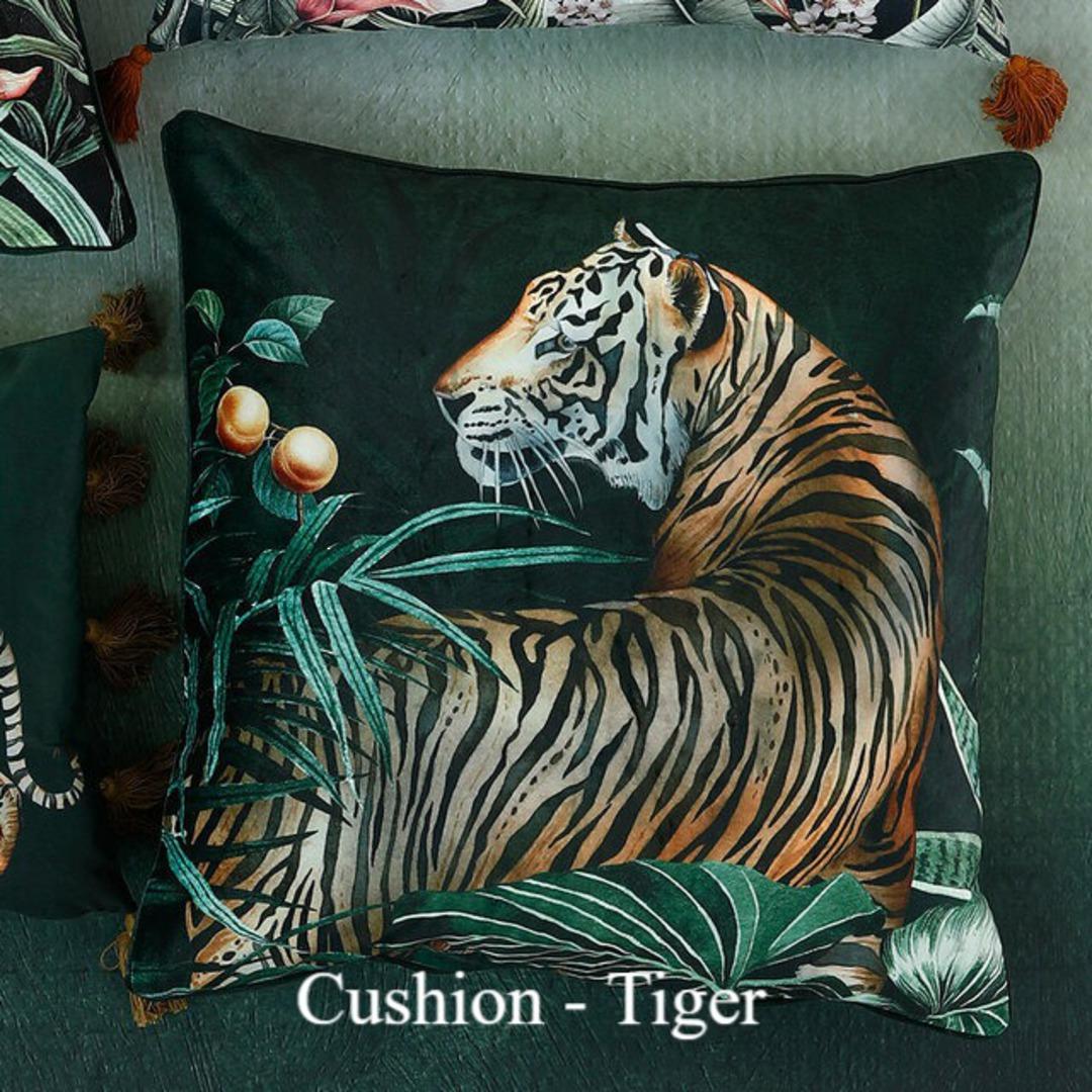 MM Linen - Avalana - Caspian Cushion - Tiger image 0