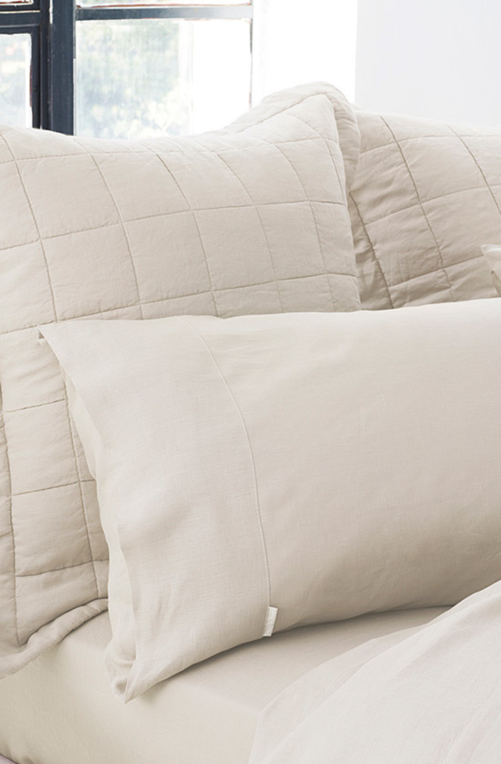 Sheridan - Abbotson Flax Tailored Linen Duvet Cover / Pillowcases image 1