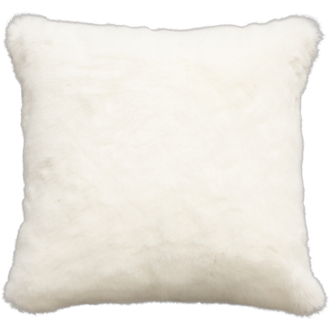 Heirloom Exotic Faux Fur Cushion/ Throw - Polar Bear image 2