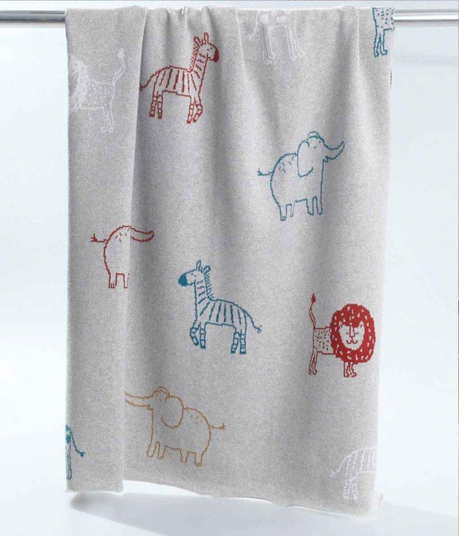 MM Linen - Safari Baby Blanket image 0