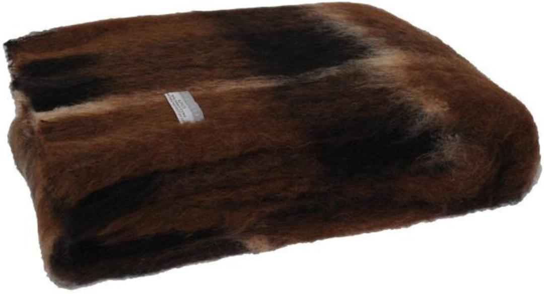 Alpaca Buffalo - Brushed Throw by Master Weave image 0
