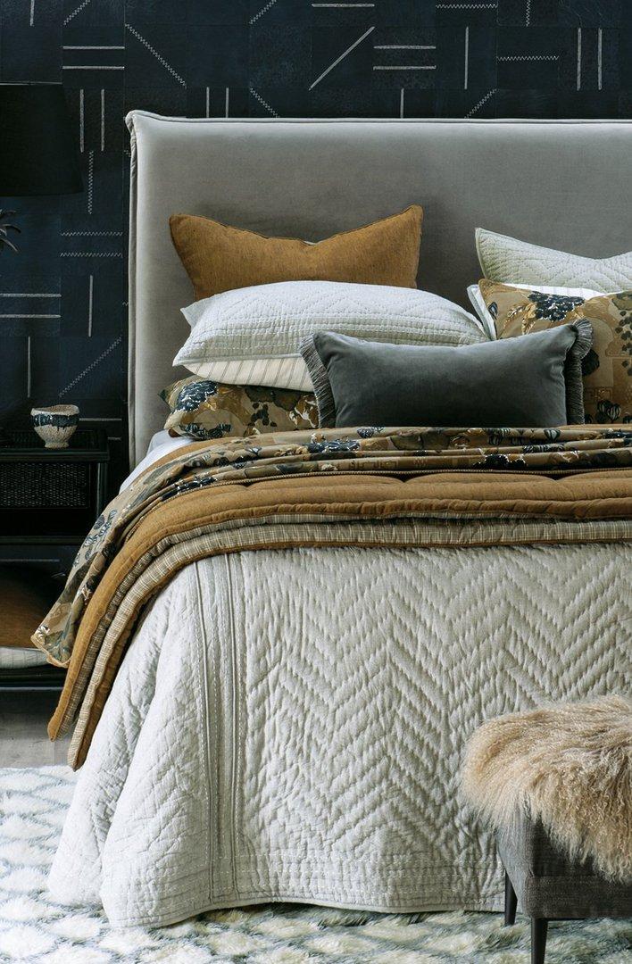 Bianca Lorenne - Ganuchi - Bedspread - Pillowcase and Eurocase Sold Separately  - Grey image 4