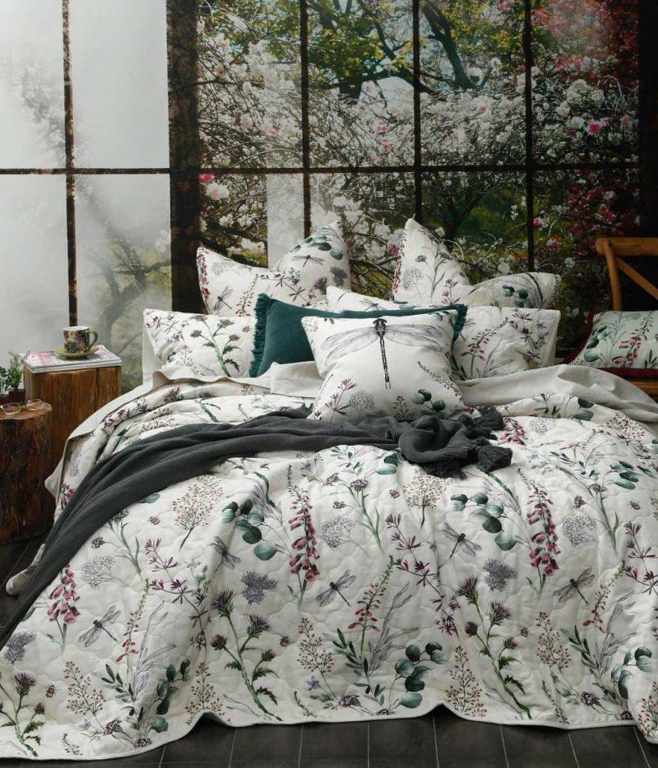 MM Linen - Lula Bedspread Set/Eurocases/Cushion image 0