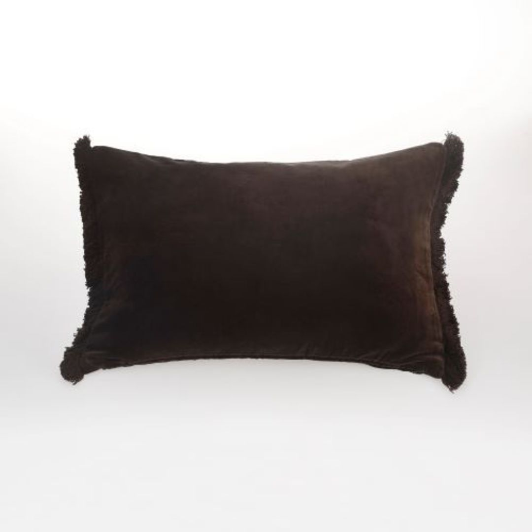 MM Linen - Sabel Cushions - Coffee image 1