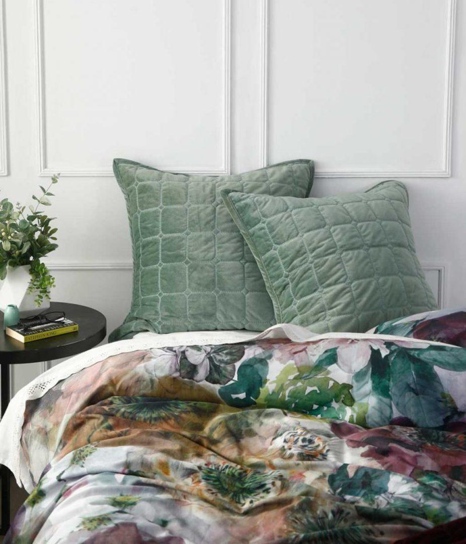 MM Linen - Meeka  Laurel Quilted  Comforter Set - Large image 1