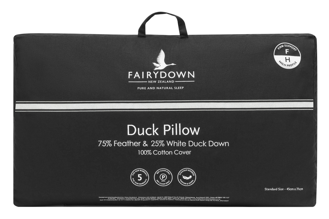 Fairydown  - Duck Feather & Down Pillow 75/25 image 0