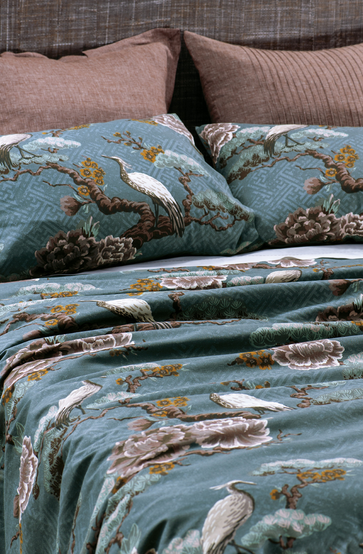Bianca Lorenne - Kuren Duvet Cover Set /Pillowcase  - Ocean image 0