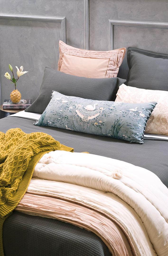 Bianca Lorenne - Valentina Slate Bedspread / Pillowcase/Eurocase image 4