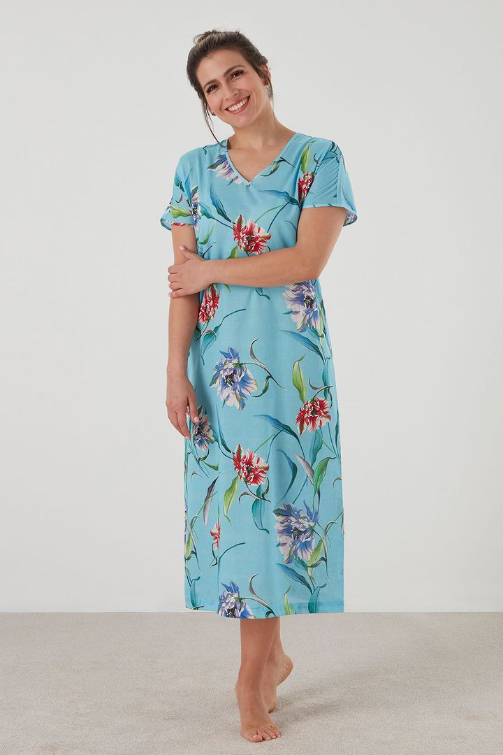 Baksana - Camilla Long Nightie image 0