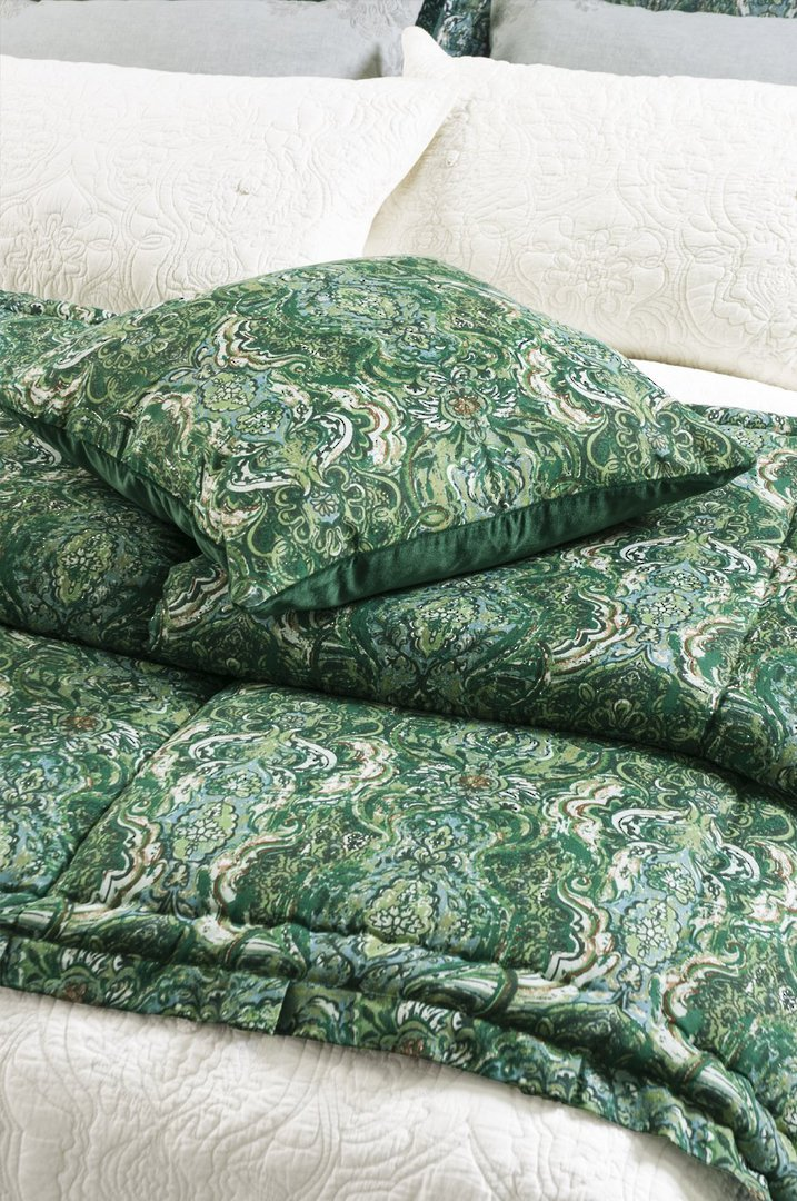 Bianca Lorenne- Riad Emerald - Comforter/Pillowcase/Eurocase/Cushion image 0