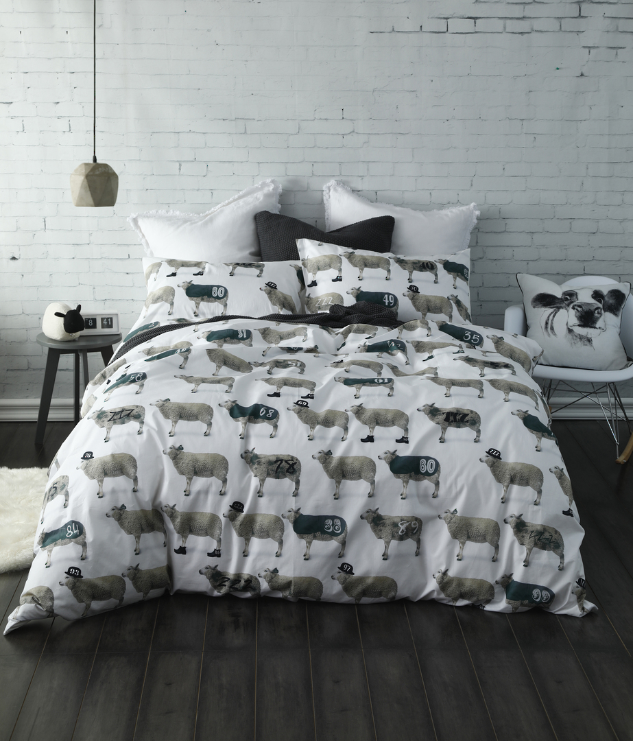 MM Linen - Counting Sheep Duvet Set image 0
