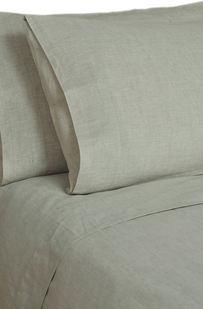 MM Linen - Laundered Linen - Sheet Set - Natural image 0