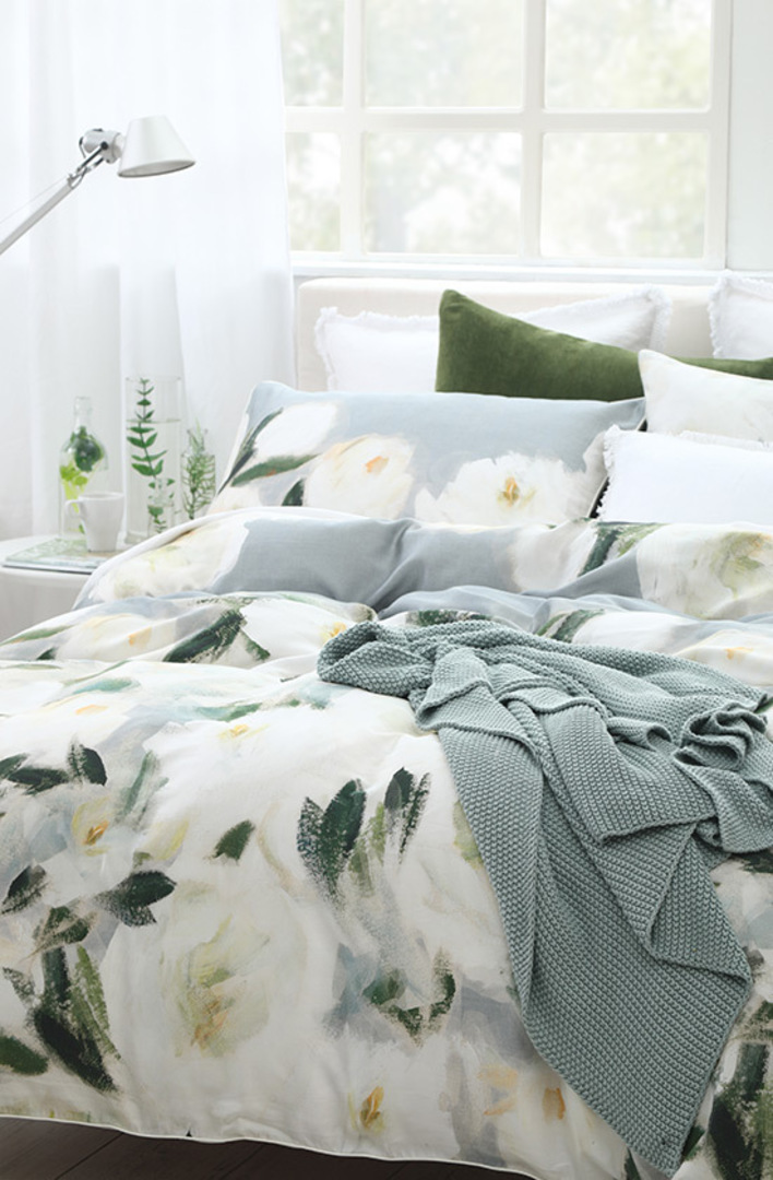 MM Linen - Camellia Duvet Cover Set image 1