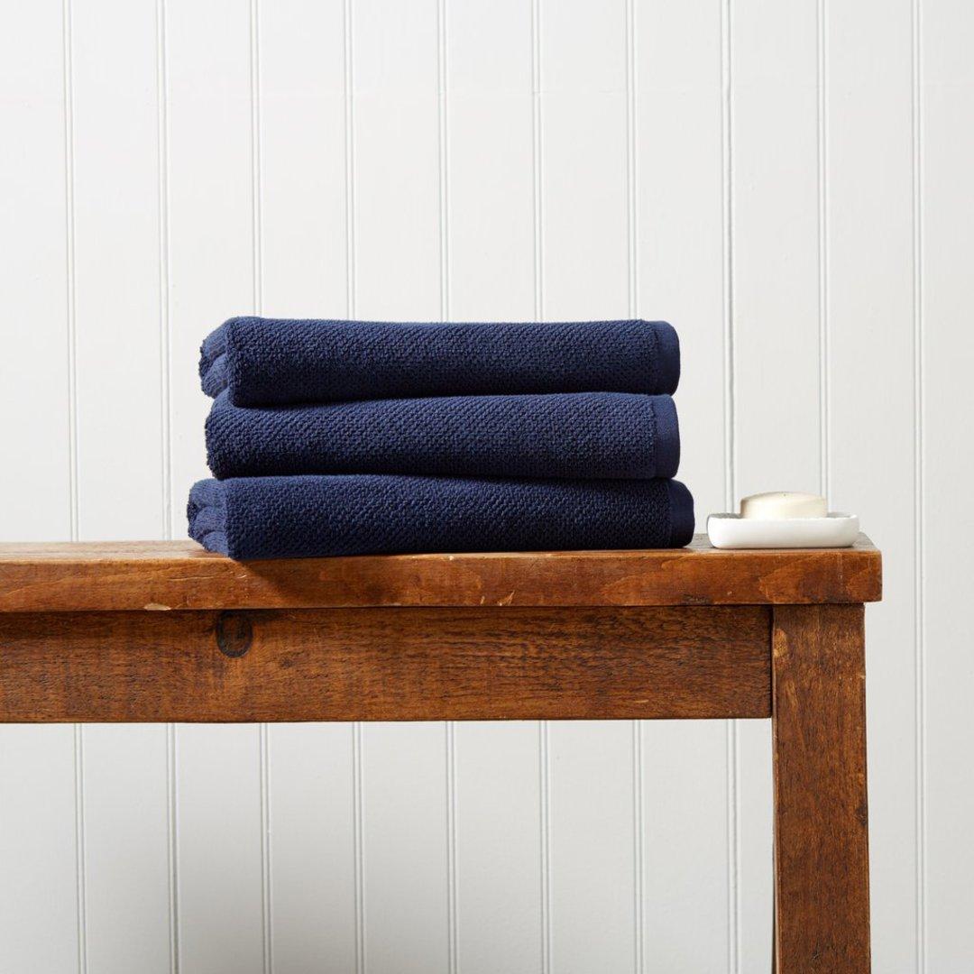 Seneca - Christy Brixton Towels, Hand Towels & Bath Mats - Midnight image 0