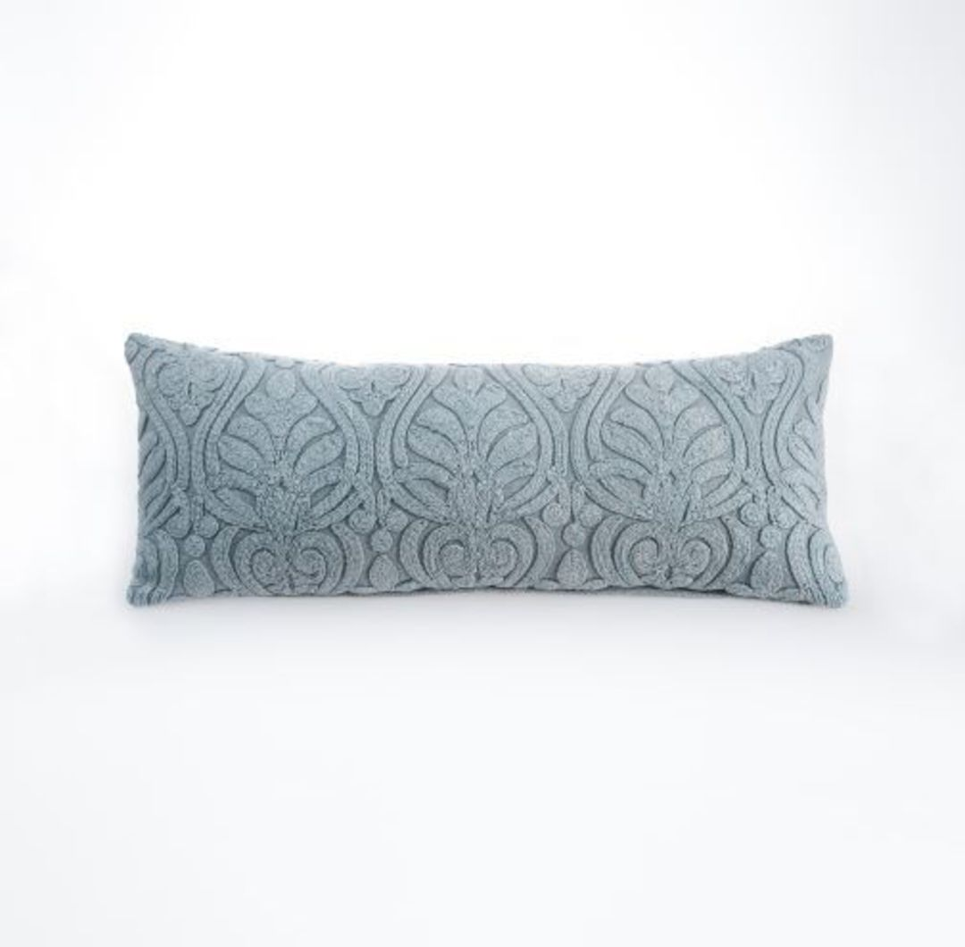 MM Linen - Malta Cushion - Mist image 0