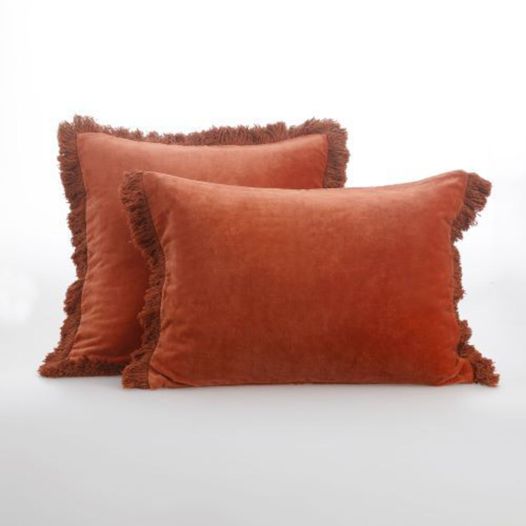 MM Linen - Sabel Cushions - Umber image 2