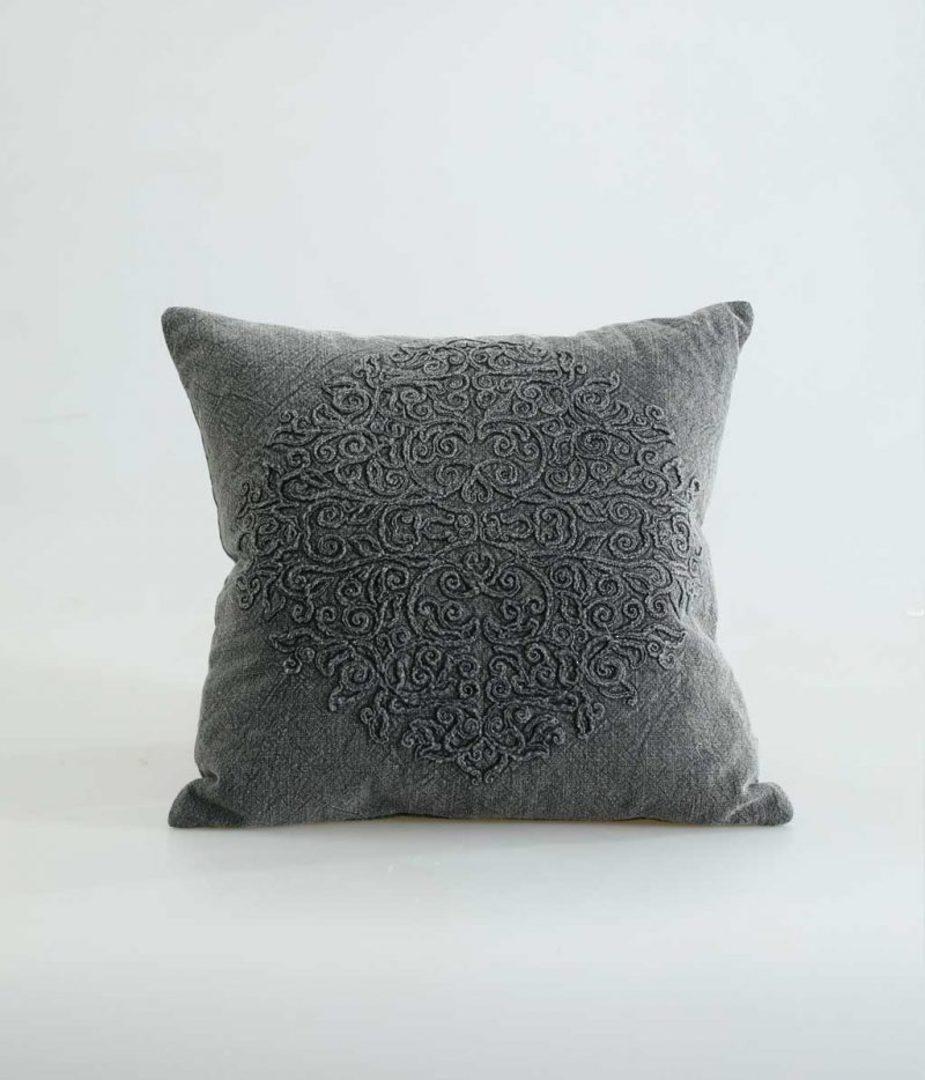 MM Linen - Auro Cushion - Charcoal image 0
