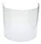 Click to swap image: Visor, Clear, Propionate, Moulded  2.5mm requires Chin Protector