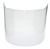Click to swap image: Visor, Clear, Propionate, Moulded  2.5mm