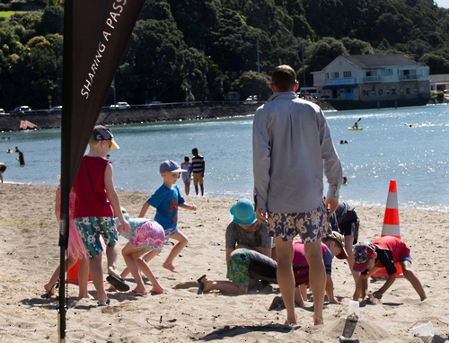 Auckland Branch Beach BBQ