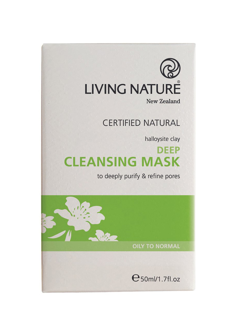 Living Nature Deep Cleansing Clay Mask, 50ml image 0