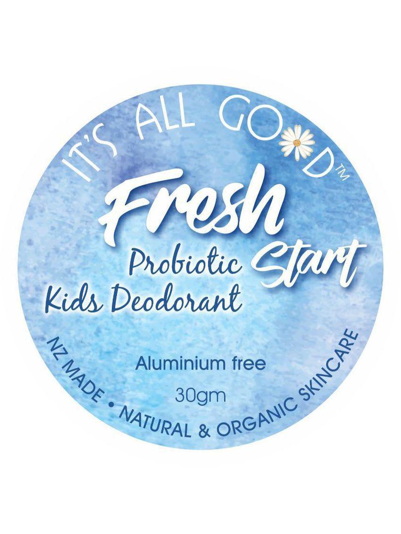 It's All Good, Fresh Start Probiotic Kids Deodorant, 30gm image 0