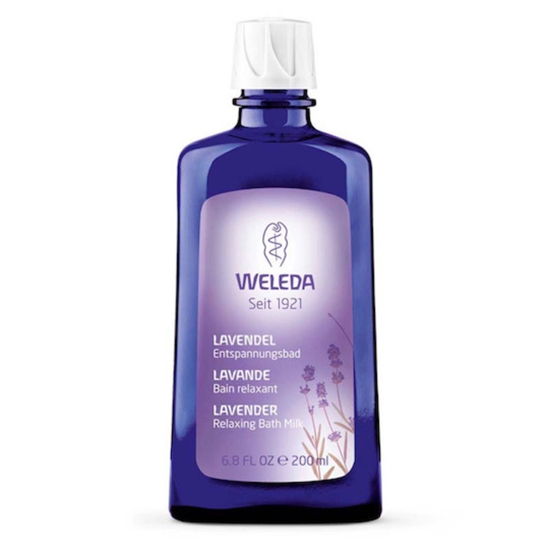 Weleda Lavender Relaxing Bath Milk, 200ml image 0