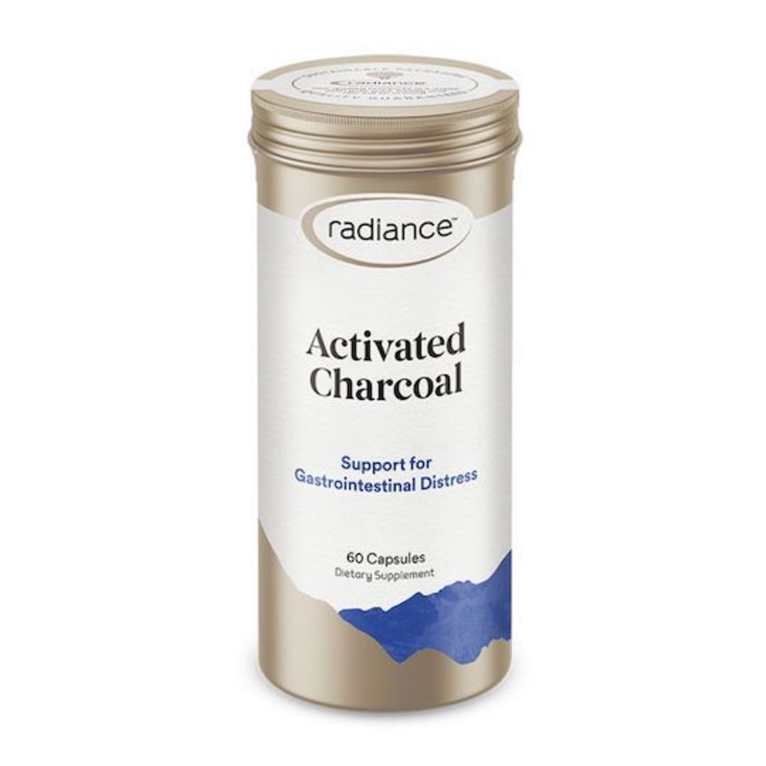 Radiance Activated Charcoal, 60 Capsules image 0