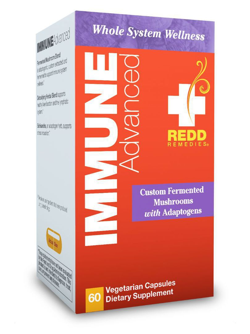 Redd Remedies Immune Advanced, 60tabs image 0