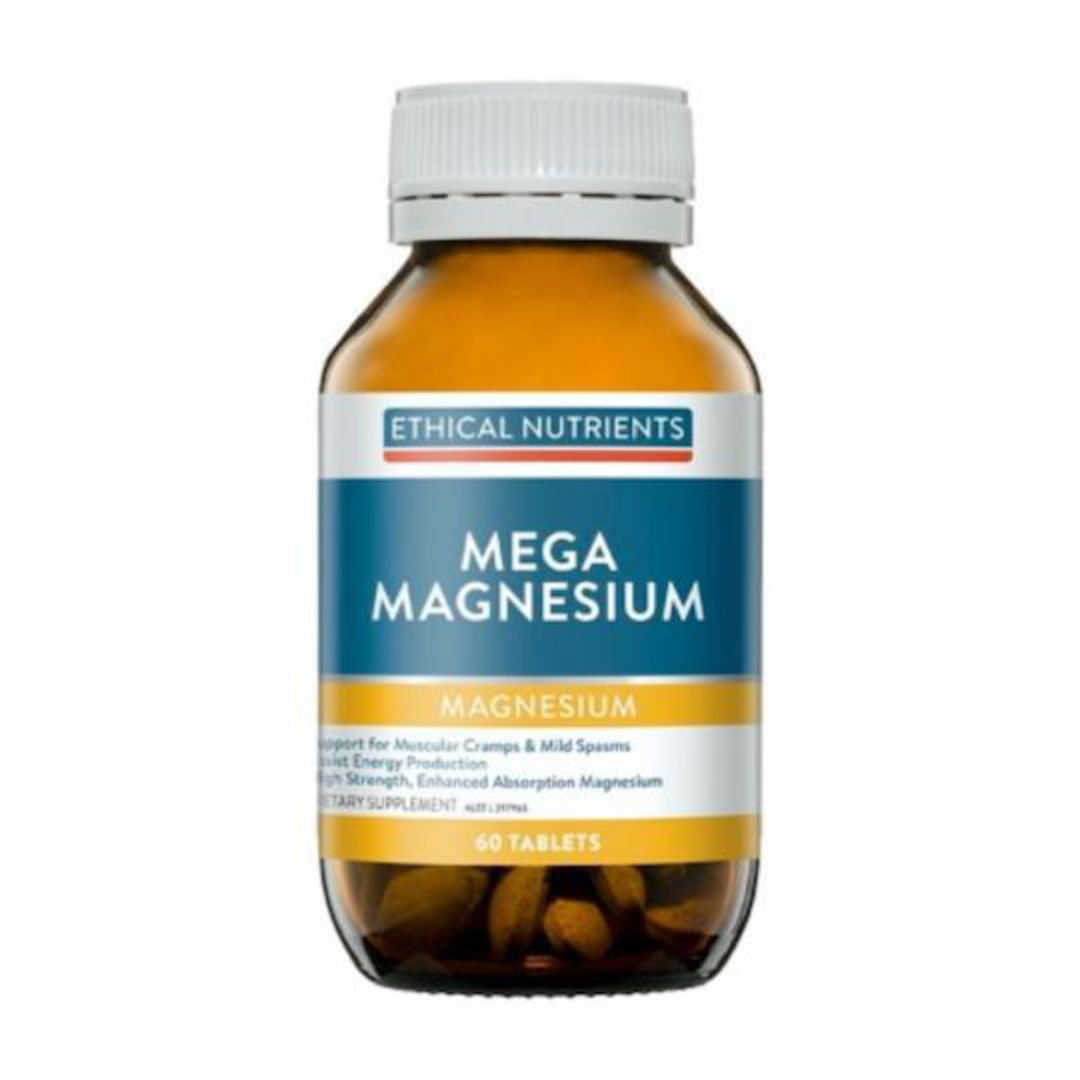 Ethical Nutrients Mega Magnesium, 60, 120 or 240 Tablets image 0