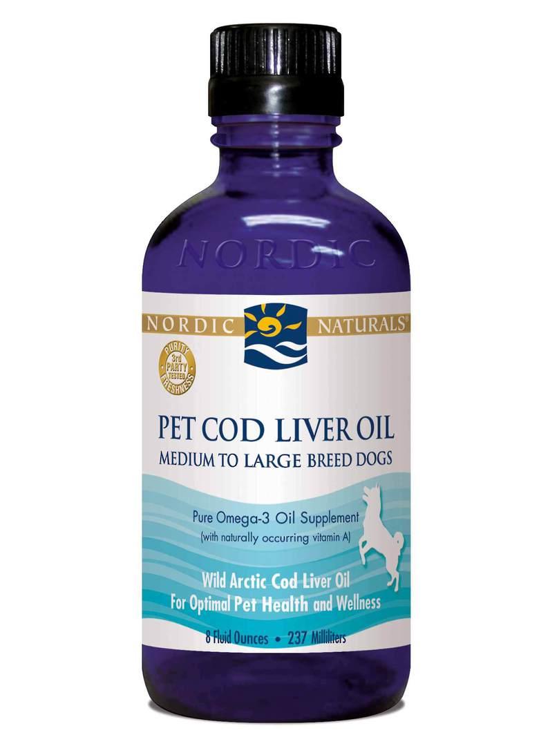 Nordic Naturals Pet Cod Liver Oil (liquid 237 ml) image 0