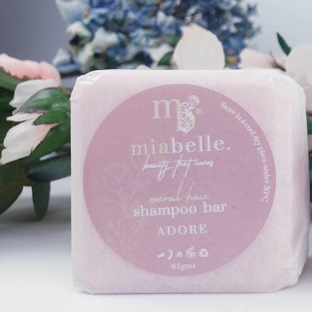 Mia Belle Adore Shampoo Bar, 95g image 0
