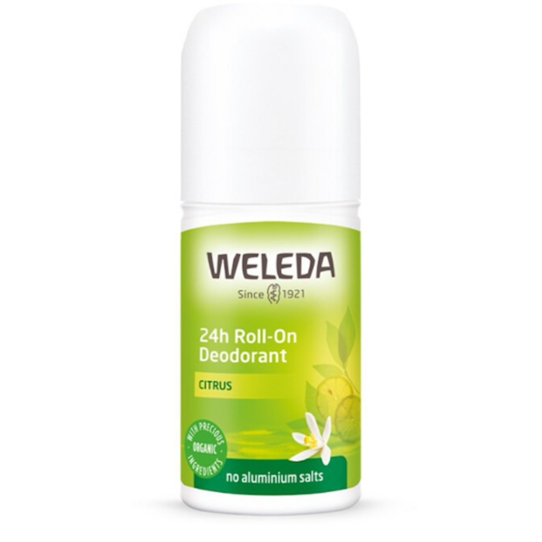 Weleda Citrus 24h Roll-On Deodorant, 50ml image 0