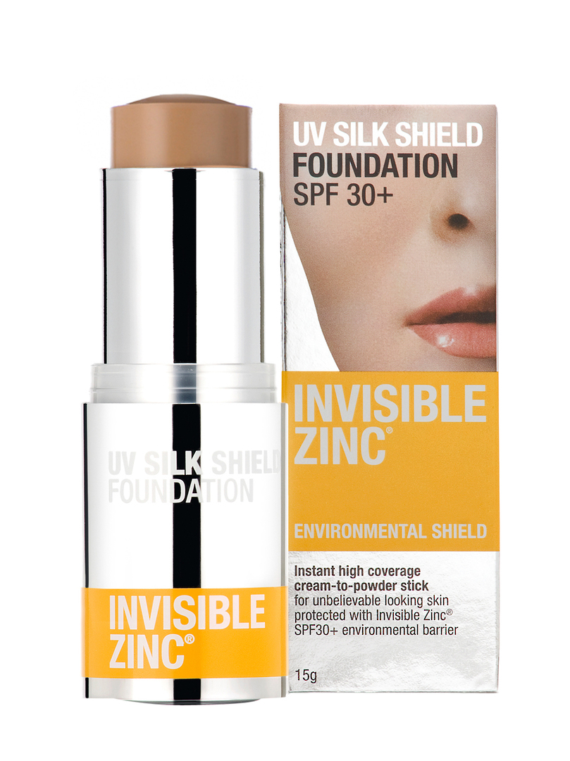 Invisible Zinc UV Silk Shield Foundation Tinted 15g (No longer available but we have found a replacement product) image 0