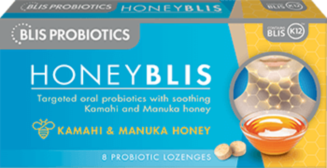 Blis Honey BLIS - 8 lozenges (use by end May 21) image 0