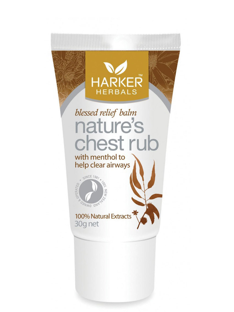 Harker Herbals Nature's Chest Rub 30g image 0