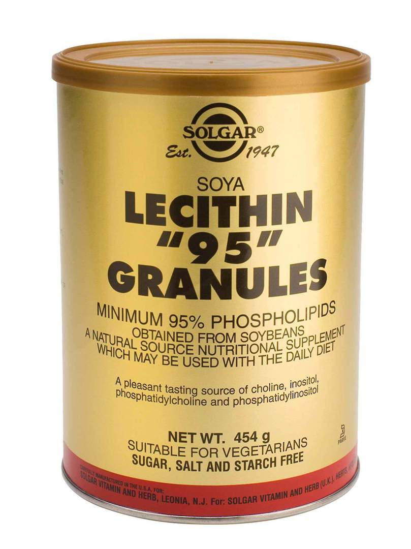 Solgar Lecithin 95 Granules (225g) image 0