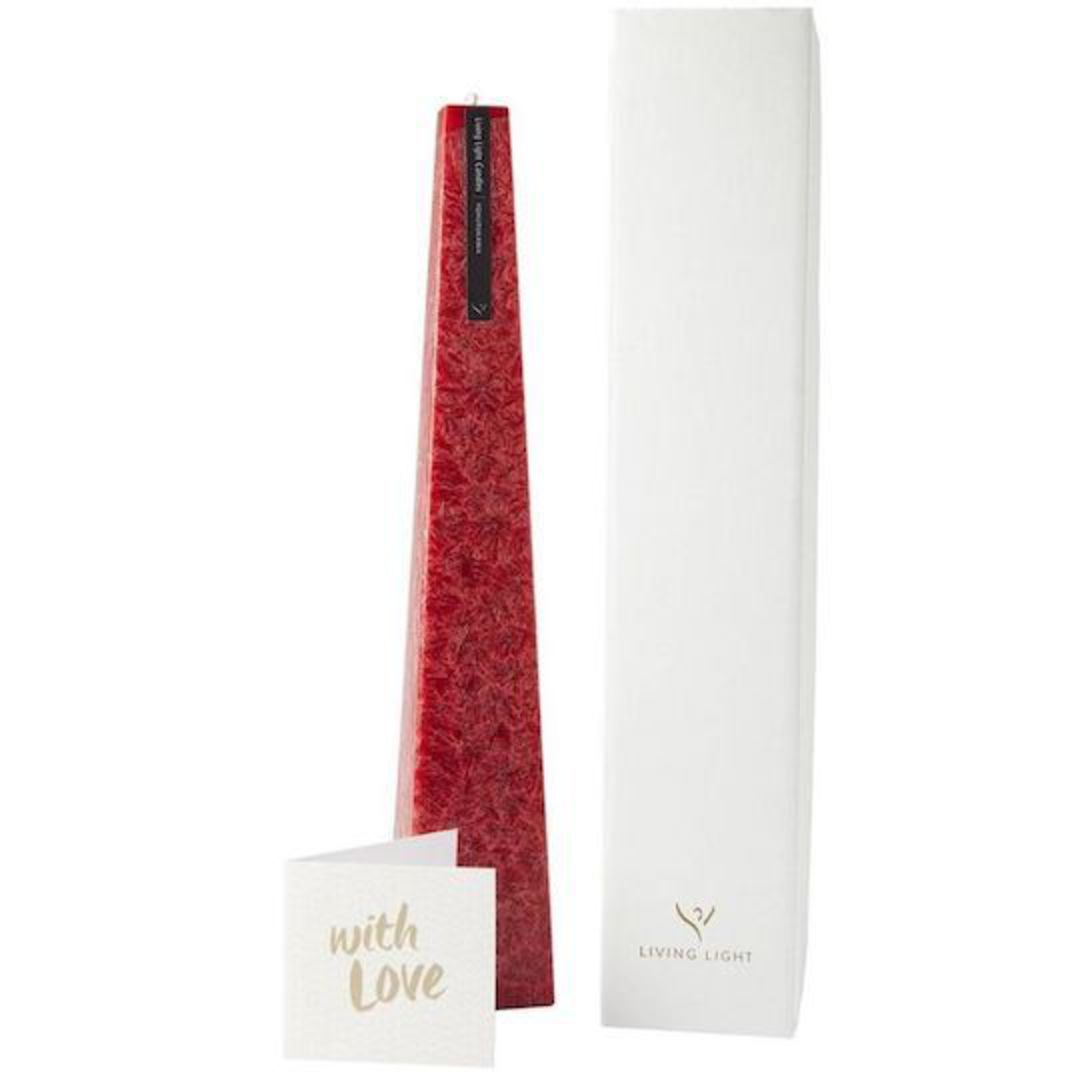 Living Light Boxed Icicle Candle with Love Gift Card image 0
