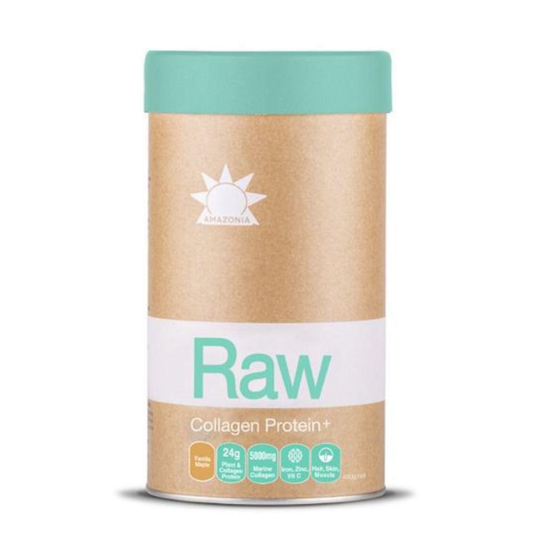 Amazonia Raw Collagen Protein+, 450g (Vanilla Maple) image 0
