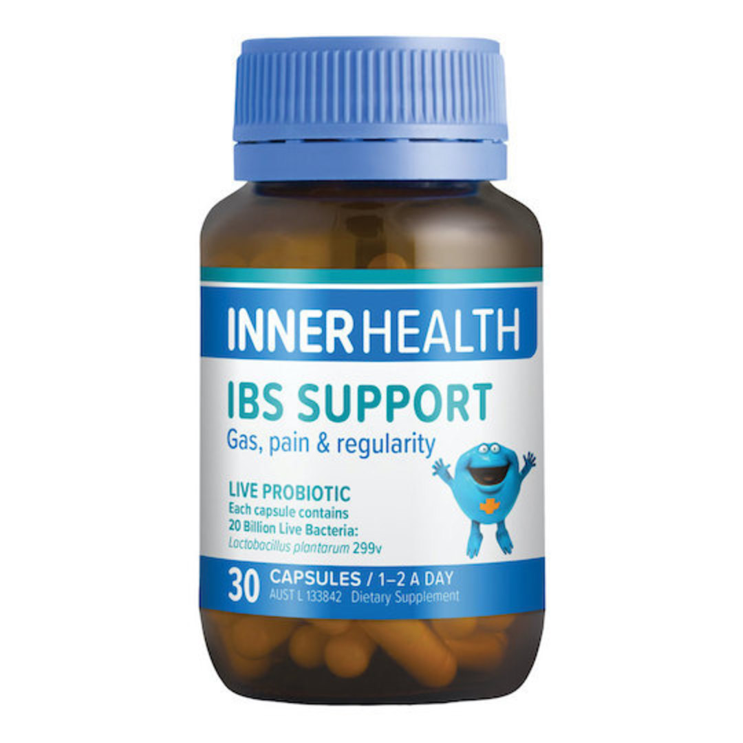 Inner Health IBS Support, 30 or 90 caps image 0