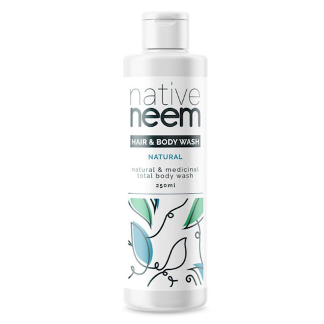 Native Neem Organic Neem Hair and Body Wash, 250ml image 0