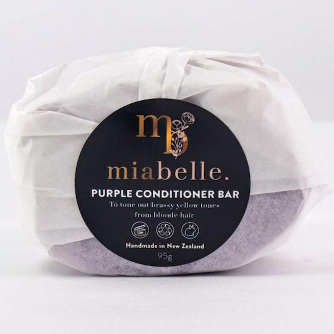 Mia Belle Purple Conditioner Bar, 95g image 0