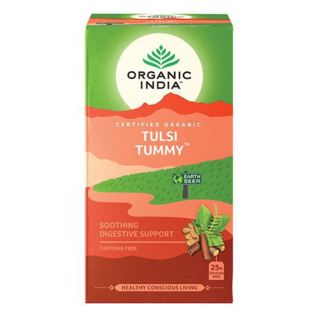 Organic India Tulsi Tummy, 25 tea bags image 0