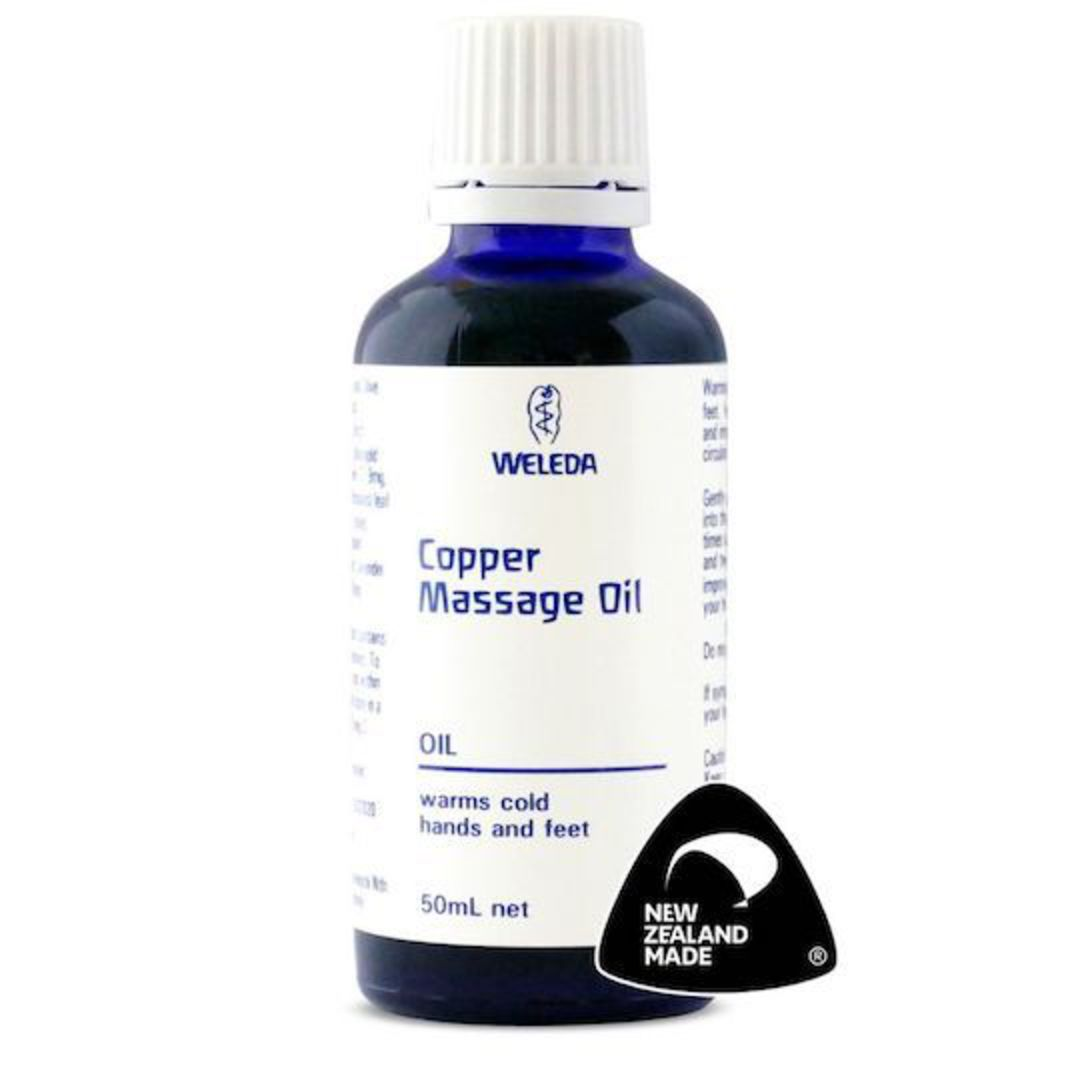 Weleda Copper Massage Oil, 50ml image 0