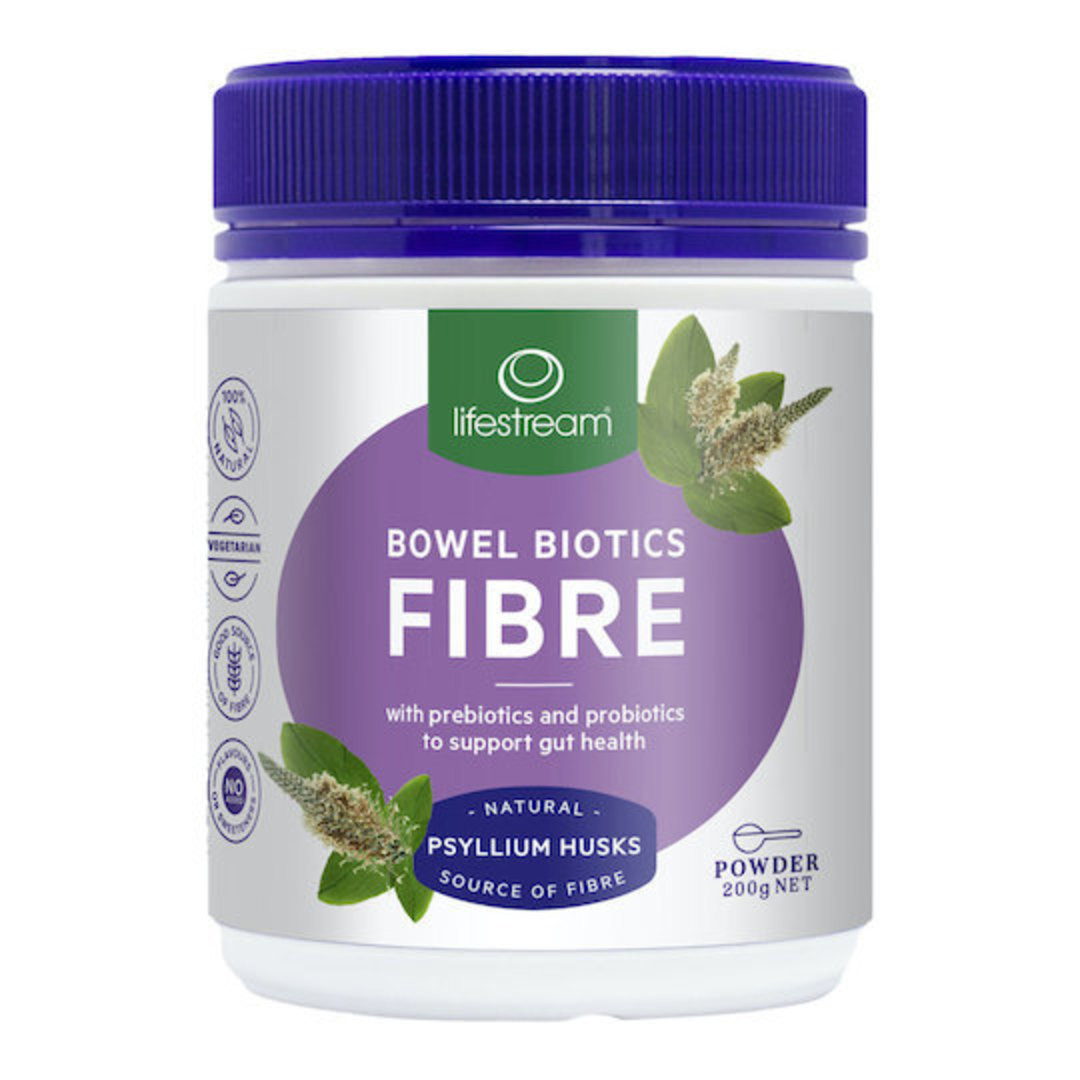 Lifestream Bowel Biotics Fibre, Powder image 0
