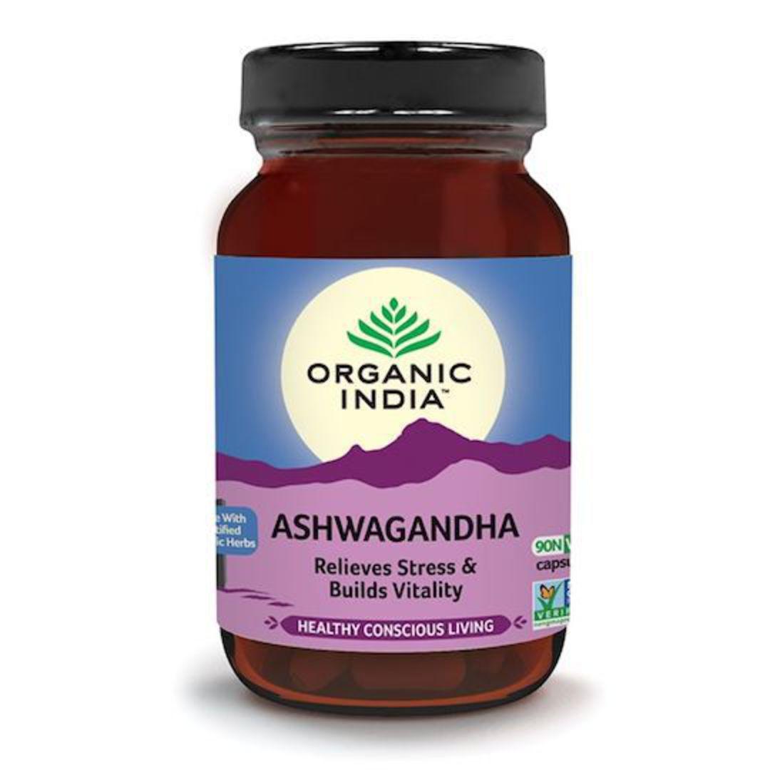 Organic India Ashwagandha, 90 Capsules image 0