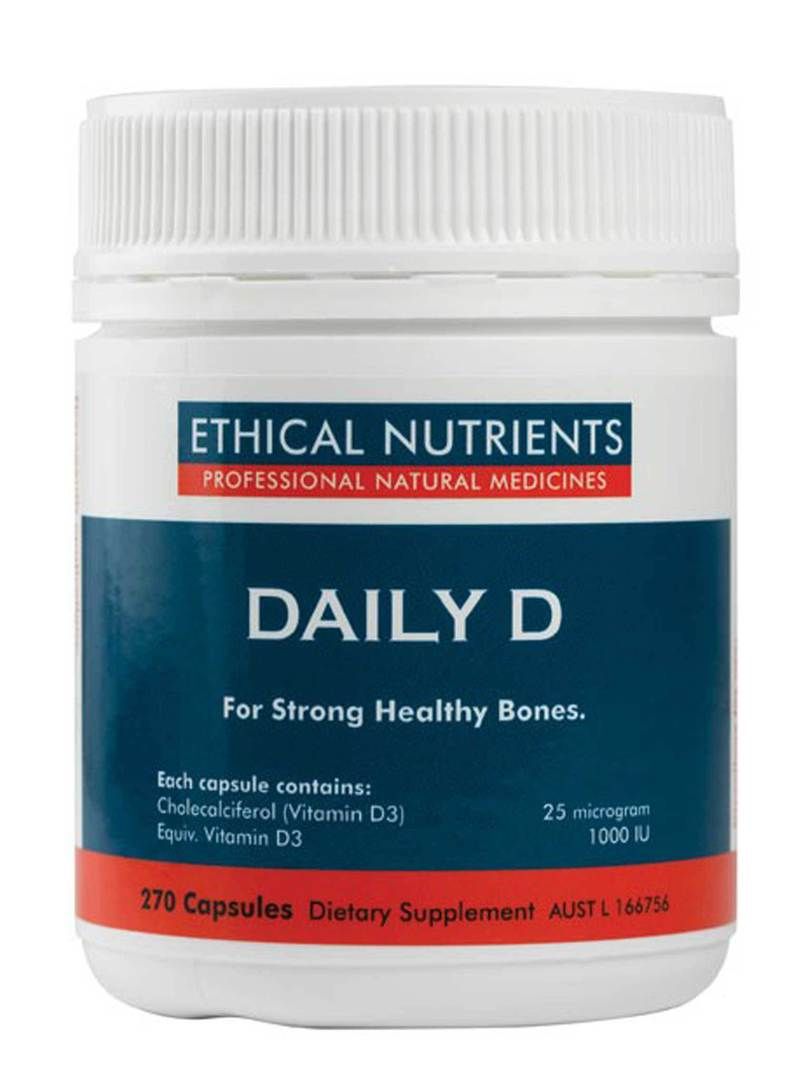 Ethical Nutrients Daily D, 90 or 270 Capsules image 0