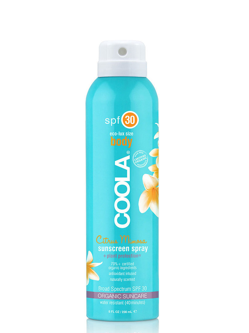 Coola Eco-Lux Body Sunscreen Spray, SPF 50, Unscented and Guava Mango image 0