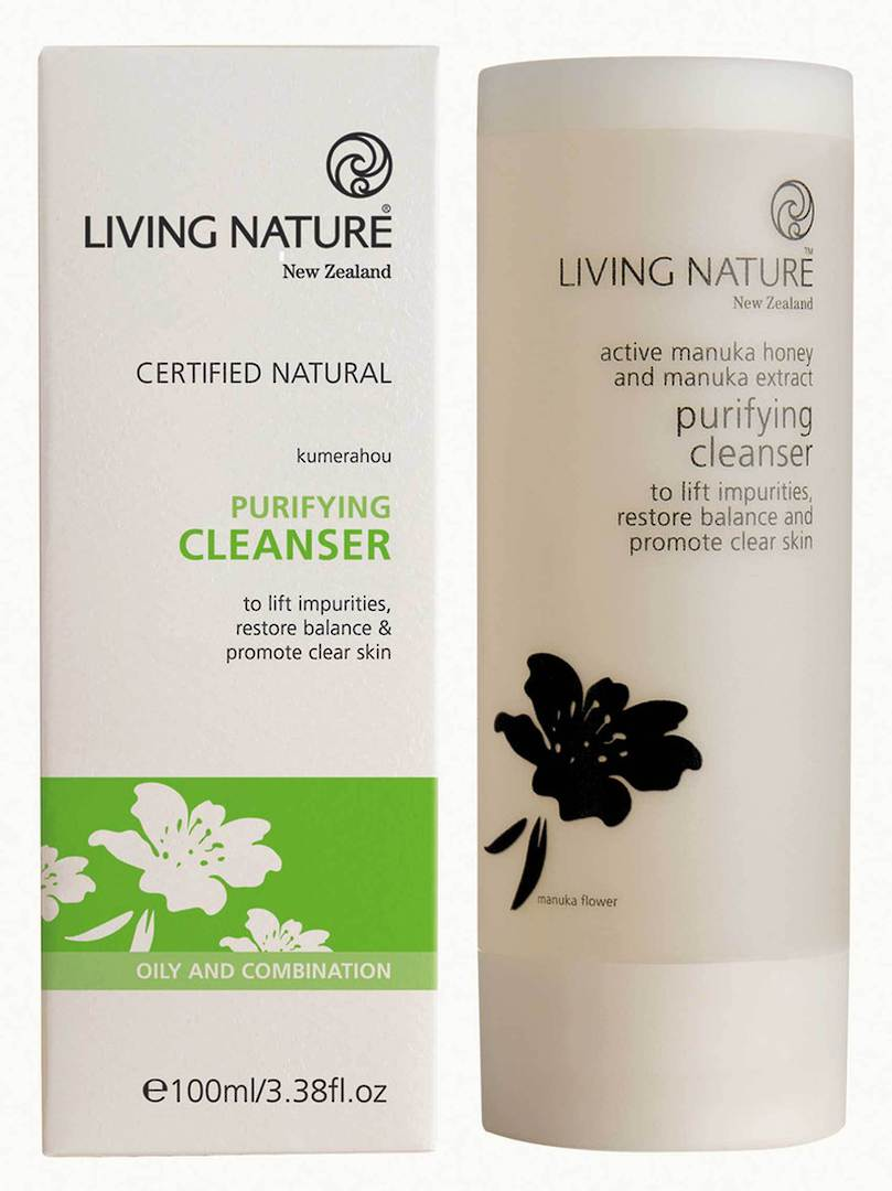 Living Nature Purifying Cleanser, 100ml image 0